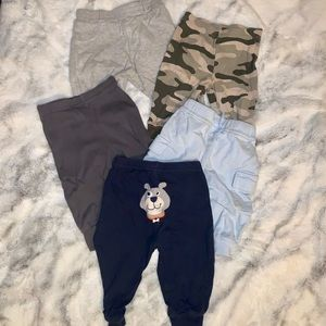 5 Baby Pants 0-6 months baby clothes Carter brand